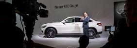 Auf der New York International Auto Show feiert das Mercedes GLC Coupé seine Weltpremiere.