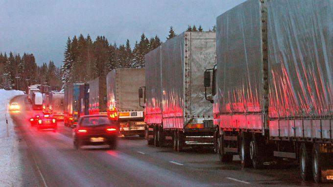 Die Grenzübergänge Salla und Lotta-Raja-Jooseppi zwischen Russland und Finnland sind erst einmal dicht.