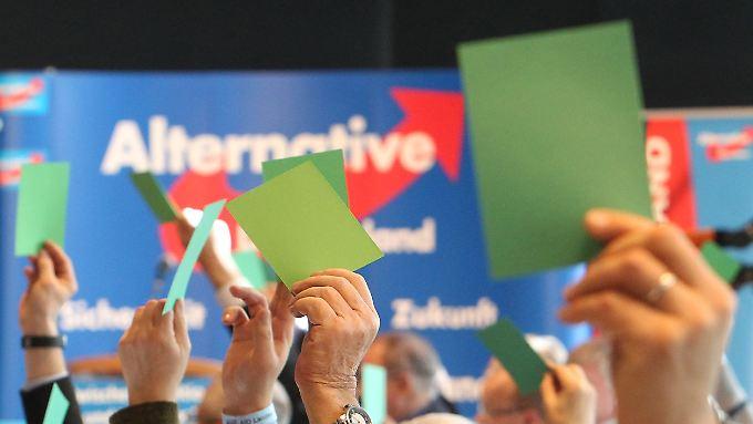 Beim Parteitag in Stuttgart am 30. April und 1. Mai soll das Programm der AfD beschlossen werden.