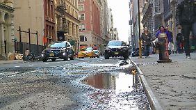 In New York fährt man inzwischen mit einem SUV besser.