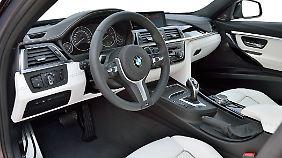 Die Ausstattungslinien bestimmen beim 3er BMW auch entscheidend das Interiuer.