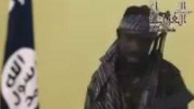 Abubakar Shekau in der aktuellen Videobotschaft.
