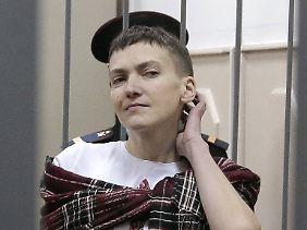 Nadeshda Sawtschenko soll 22 Jahre in Haft.
