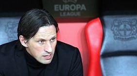 Bei Bayer Leverkusen heißt es auch in der neuen Saison: Alles Roger Schmidt.