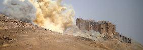 Ein Drittel der Stadt erobert: Soldaten drängen IS in Palmyra zurück