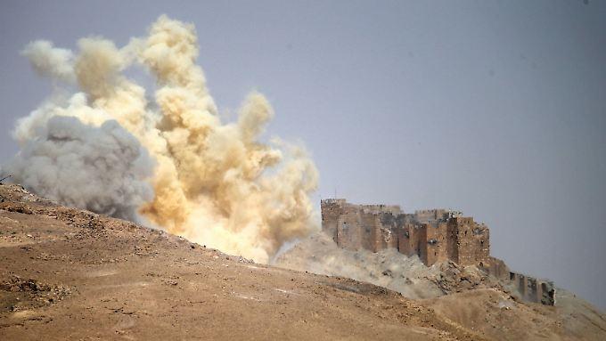 Um Palmyra wurde heftig gekämpft.