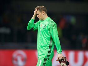 Machtlos: Manuel Neuer.