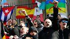 Rechte Parolen im Zentrum von Brüssel: Hooligans stürmen Gedenkveranstaltung
