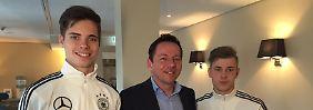Interview mit Julian Weigl und Max Meyer: Natürlich träumen sie von der EM