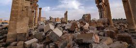 """Archäologen sind optimistisch: Palmyra kann """"so werden wie vorher"""""""
