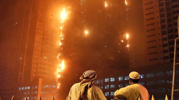 Der Brand im Adschman-Gebäude reiht sich ein in eine Serie von Großbränden in den Vereinigten Arabischen Emiraten.