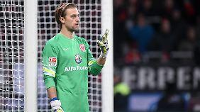 Letzte Ausfahrt Frankfurt: Bei der SGE ist für Hildebrand Schluss mit Bundesliga-Fußball.