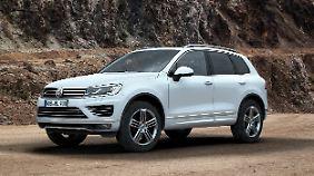 Der Touareg hat Probleme mit den Pedalen. Auch ihn ruft VW weltweit zurück.