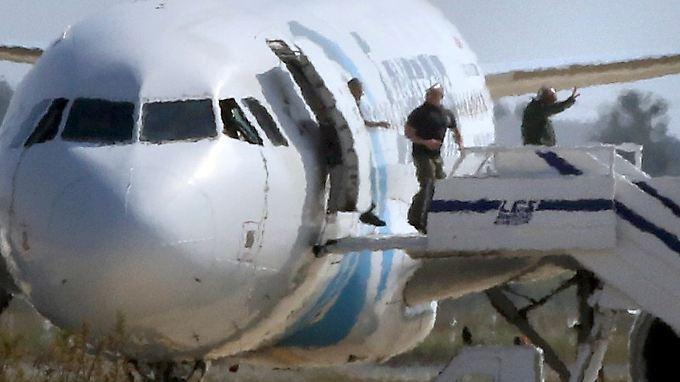 Motiv mittlerweile bekannt: Mann kidnappt ägyptische Passagierflieger