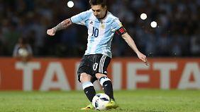 Ein weiteres Tor für die Geschichtsbücher: Lionel Messi.