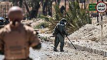 Eine Stadt voller Minen: IS plante in Palmyra ein Inferno