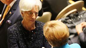 Streit um Griechenlands Zukunft: Lagarde und Merkel suchen Auswege aus der Zwickmühle