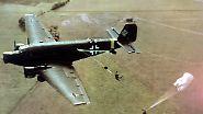 Obwohl sie nie als Kampfflugzeug geplant war, ...