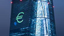 Uneinigkeit im Frankfurter EZB-Tower hinsichtlich der Anleihenkäufe.