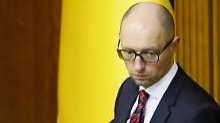 Ukraines Regierungschef tritt ab: Präsident drängt Jazenjuk aus dem Amt