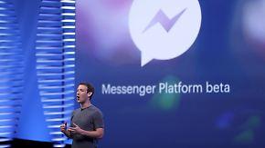 """""""Niemand ruft gerne bei Unternehmen an"""": Facebook präsentiert Kommunikation der Zukunft"""