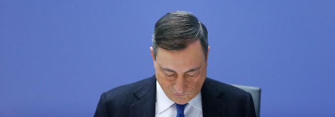 Mini-Zinsen, Anleihekäufe: Draghi hat die Prügel nicht verdient