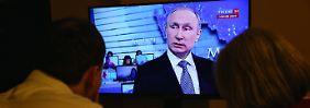 Dieser Fauxpas wird dem russischen Präsidenten nicht gefallen haben.
