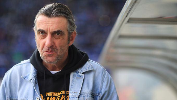 Ralf Minge fehlt Dynamo Dresden auf unbestimmt Zeit.