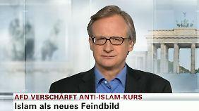 "Albrecht von Lucke zum Anti-Islam-Kurs: AfD macht ""radikale Kampfansage an inneren Frieden"""