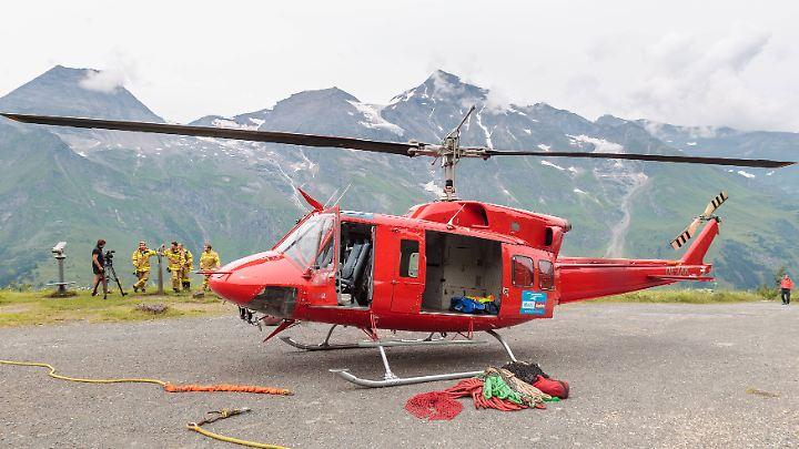 Für den Hubschraubereinsatz werden zwischen 40 und 60 Euro pro Flugminute fällig.