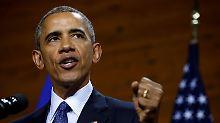 Spitzentreffen in Hannover: Barack Obama fordert geeintes Europa