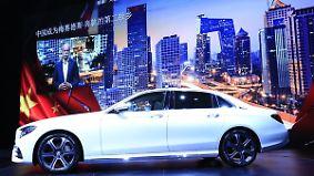 Deutsche Neuheiten bei Peking Autoshow: Chinesen stellen ihre Antwort auf Tesla vor