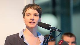 """""""AfD weist auf Probleme hin"""": Petry wirft Kritikern Populismus vor"""