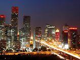 Die Skyline von Peking: Ab 2017 soll die Metropole Kern einer Megalopolis von 130 Millionen Einwohnern werden.
