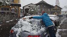 Bis zu zwölf Zentimeter Schnee: Winter-Wetter hat April im Griff