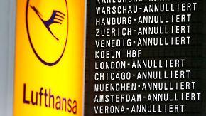 Massive Ausfälle und Verspätungen: Verdi legt sechs deutsche Flughäfen mit Warnstreiks lahm