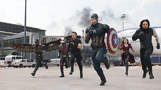 """Neu im Kino: """"First Avenger - Civil War"""": Wenn Captain America und Iron Man sich streiten, freut sich Daniel Brühl"""