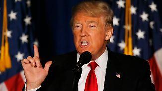 """""""Amerika zuerst"""": Trump stellt Ziele seiner US-Außenpolitik vor"""