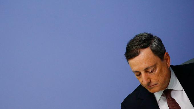 Sorgt für niedrige Zinsen: Mario Draghi.
