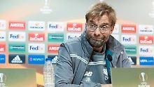 """""""Villarreal ist nicht so weit gekommen, weil die Gegner alle nicht Fußball spielen konnten"""": Jürgen Klopp."""