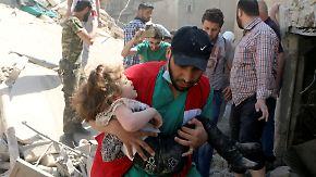 Gefährdete Waffenruhe in Syrien: Dutzende Menschen sterben bei Angriff auf Klinik in Aleppo