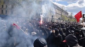 Krawalle in Frankreich: Hundertausende gehen gegen geplante Arbeitsrechtsreform auf die Straße