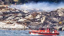 Unglück in Norwegen: Hubschrauber auf Weg zu Ölfeld abgestürzt