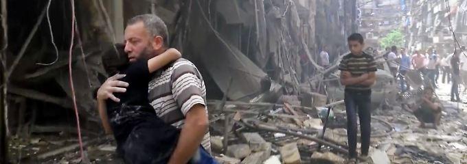 Das einst blühende Aleppo ist heute ein zerstörte Stadt.