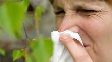 Tücke der Natur: Pollenallergiker reagieren auf Apfel und Co.