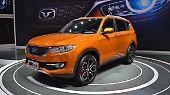 Cowin Auto hat in Peking seinen X3 vorsgestellt.