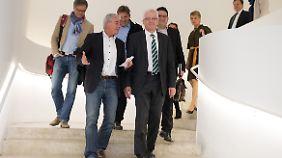 Die wichtigsten Köpfe von Grün-Schwarz in Baden-Württemberg: Thomas Strobl und Winfried Kretschmann.