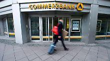 Gewinn bricht ein: Commerzbank startet schwach ins Jahr