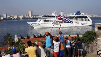Emotionale Reise: Erstes Kreuzfahrtschiff seit 50 Jahren legt in Kuba an