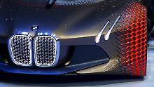 """Blick in die Zukunft gerichtet: der """"BMW Vision Next 100""""."""